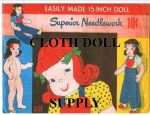 VP 301 Easily Made 15 in. Doll Pattern