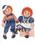 VP 4268 Large Raggedy Ann & Andy Doll Pattern