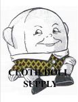 VP 5743 Humpty Dumpty Cushion Pattern