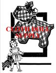 VP s 5811 Gingham Scottie Pattern