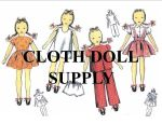 VP 5972 Twenty Two Inch Cloth Doll