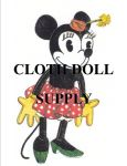 VP 7112 Minnie Mouse Pattern