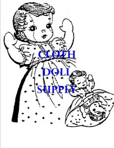 VP 807 Topsy Turvy Doll Pattern