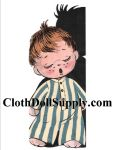 VP 896 Sleepy Michael Sock Doll Pattern