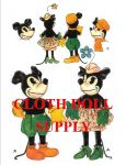 VP 91 Mickey & Minnie Mouse Dolls Pattern