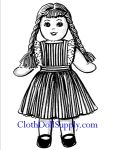 VP 917 Ozark Annie Sock Doll Pattern