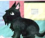 VP s BSD Black Scottie Dog Pattern