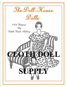 VP EFA5  The Doll House Dolls Pattern