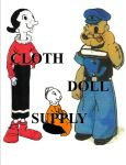 VP-PE0123 Popeye & Family Pattern