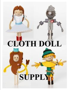 0 Wizard of Oz™ Clothespin Doll Kit