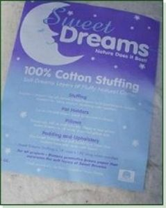 Sweet Dreams Cotton Stuffing - BULK