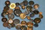 Metal Vintage Buttons